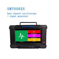 Jinhan لمس الشاشة الذبذبات SMTO502S 60M / 250msa / s أخذ العينات معدل الذبذبات USB 2channel + مولد إشارة