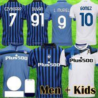 2021 Atalanta B.c. Jersey de futebol gomez 2020 21 l.muriel ilicic de roon duvan muriel atalanta bc maglia da calcio homens kit kit uniforme