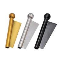 Metal Snuff New Metal Tubos de Aço Inoxidável Bala Nariz Snuff Multi Propósito Tubulação Mini Tubulação