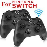 Controller di gioco Joysticks 1pc Bluetooth Wireless Gamepad Pro Remote Controller Joypad per Switch Player Console Drop