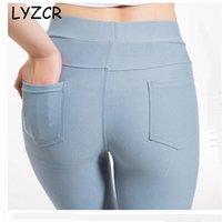 Skinny Jeans Leggings für Frauen Slim Casual Damen Dehnung Leggings Plus Size Leggings Frauen Hosen Große Stretchegine Mujer 201125