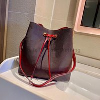20SS Designer de luxo Néonoé Mulheres Sacos de Moda Classic Letter Drawstring Bucket Causcal String Senhora Handbags