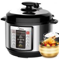 Fogões de arroz 5l inteligente máquina de pressão doméstica fogão elétrico diy mingau sopa bolo de carne1