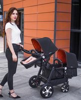 Twin Stroller High Landscape Dragon Phoenix Two Twin Strolle...