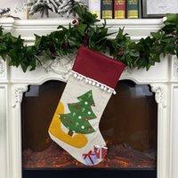 Рождественский подарок сумка мода слонов украшения чулок дерева медведь слонов снеговики орнамент кулон 2020 мультфильм новое поступление 16 5xd f2