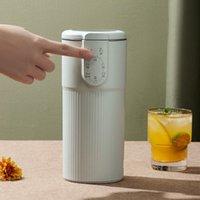 Soyyamilk Maker Machine Filtro-gratuito Multifunzione Automatico Riscaldamento elettrico Automatico Suoia-fagioli Latte Spremiagrumi Stilare Riso Pasta Rendi Tè 300ml Y1201