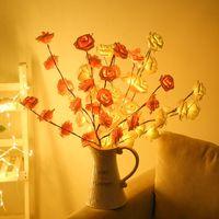 LED tenda leggera stella e luna vacanza a corda a stringa impermeabile decorazione lampada per feste di nozze San Valentino LED luce 10pcs T1I3477