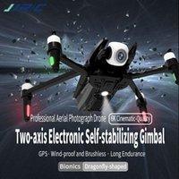 JJRC X15 بدون طيار 6K المهنية gps quadcopter مع 2-axis gimbal hd كاميرا fpv فرش موتور 1200 متر rc dron vs sg906 برو