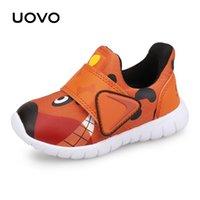 UOVO Новые туфли малыша мальчики и девочки повседневные туфли осень дышащая маленькая детская обувь милая детская обувь 22 # -30 201201