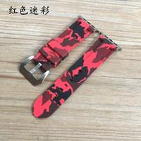 Faixa de relógio de silicone de camuflagem para apple watch 42 / 44mm 38 / 40mm relógio pulseira pulseira para iwatch série 6 5 4 3 2 1 50 pcs