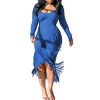 Женский дизайнерский свитер платья мода нерегулярные тазонные панели женские корпусные платья вскользь осень зима самки одежды