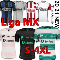 LIGA MX 2020 2021 Jersey de football Camisetas de Fútbol San San Lagunatos Queretaro FC Club Deportivo Guadalajara Chivas Hommes Kits 4XL Shirt de football