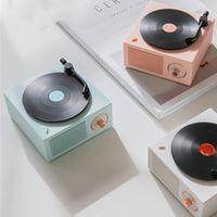 Enregistreur vinyle Portable Haut-parleur Bluetooth sans fil Mini stéréo Stéréo Petit Steel Pistolet Multi-Fonction Partour Party X10 30pcs