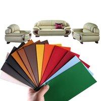 التصاق الذاتي litchi فو الجلود التصحيحات كبيرة الحجم متعدد الألوان pu أريكة هول إصلاح سيارة ملصقا الديكور للماء