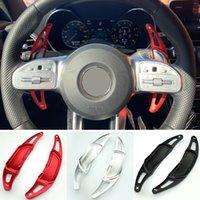 Alüminyum Araba Direksiyon Shift Paddle Shifter Extension Mercedes Benz için YENI AMG A45 C63 S63 GLA45 2015-2019 Styling