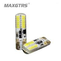 2x T10 Strobe Missing 194 W5W 22 LED 3014SMD T10 Светодиодный прочный блеск + Авто Строб вспышка Два мода эксплуатации Автомобильные лампочки1