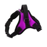 أزياء الكلب الياقات المقاود الوقاية الكبيرة تشغيل سريع الحيوانات الأليفة حبل الكلاب الصغيرة تسخير الصدرية لوازم LLS573