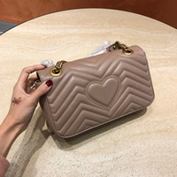 Classico vera pelle di alta qualità donne signora moda marmont borse in vera pelle crossbody borse borse zaino borsa a tracolla