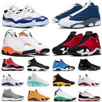 Baloncesto Jumpman Zapatos Nueva Llegada 25 Aniversario Concord 11S Deporte Flint 13s Estrella de mar Gimnasio Red 14s Hombre Para Mujer Plaza de deporte Zapatillas de deporte