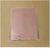 50pcs Misto colore oro argento timbratura a caldo in foglio di laminatore di carta Trasferimento su eleganza Stampante laser Carta artigianale 20x29cm jllrgb