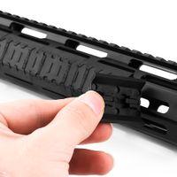Magorui 10 세트 전술 Mlok 커버 야외 사냥 Wargame 마운트 용 M-Lok 슬롯 시스템 레일 패널