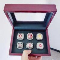 2002 2008 2009 2014 2015 2017 Ohio State Buckeyes National Team Champions Championship Ring Set Souvenir Men Fan Gift Drop Shipping