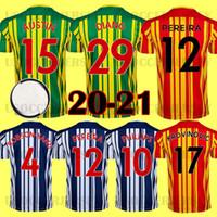 20 21 West Albion Jerseys 2020 2021 Camisa de futebol Bromwich Kits Camiseta Homens Robson Kanu Townsend Tops Equipamento