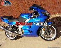 Motorcycle Fairing ZX 6R For Kawasaki Ninja ZX6R 00 01 02 2000 2001 2002 Blue Aftermarket Fairings Kits (Injection Molding)