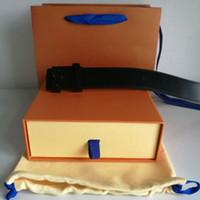 Cinturón de moda reversible Hombres Mujeres Cinturones de mujer Ancho de cinturón de hebilla de metal 3.6cm 12 colores Alta calidad con bolsas de regalo Caja