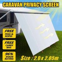 2x2.05 متر مظلة ماء ماء سيارة الظل ظلة شاطئ مظلة السفر التخييم خيمة قماش القنب سيارة الجانب السطح العلوي