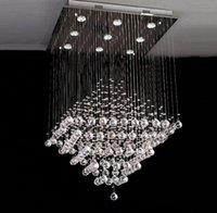 Lustre vintage traditionnel moderne de cristaux de luxe avec gu10 9 lumières pour l'hôtel salon chambre hall de chambre salle de restaurant bar
