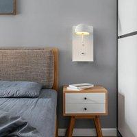 LOFT Lamparas De Techo Colgante Moderna Yatak Duvar Lambası Işık Gooseneck Halat LED Yatak Odası Yemek Odası Koridor Maymun Lamba Duvar