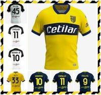 20 21 Parma Soccer Jerseys HERNANI JR 2020 2021 CORNELIUS Maglia Parma Calcio INGLESE Football Shirt GRASSI KURTIC Jersey