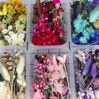 Mix style véritable fleurs naturelles séchées pour la décoration de résine de savon de bougie