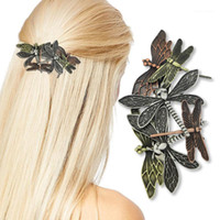 Dragonfly Barbrete Access Access Accessife Adgeo Head Piece Clip Dress Snap Pin Свадебная племенная ретро Подарок1
