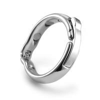 Buono per maschio metal preveditura correzione del pene ad anello regolabile Glans Glans Fisioterapia Anello Circumcision Anelli V Tipo anello di cazzo