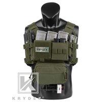 Krydex MK3 Tactical Toactical Passeur Mini Spiritus AirSoft Vest Vest Ranger Military Carrier tactique Vest avec pochette de magazine 201214