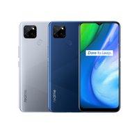 "Original Realme V3 5G Mobiltelefon 6 GB RAM 64GB 128 GB ROM MTK 720 Octa Core Android 6.5 ""Vollbild 13MP HDR-Gesichts-ID-Fingerabdruck-Handy"