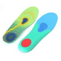 Semelles d'arche de chaussures / Support de talon Comfort Semelles de confort pour la fasciite plantaire Pieds plats Coussin Soulagement de la douleur JH-072