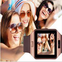 DZ09 reloj inteligente reloj de pulsera portátil reloj de pulsera SIM relojes TF para iPhone Android Smartphone SmartWatch Samsung PK Q18 V8