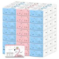 Tipo de extracción Home Comida Papel Napkins de alta calidad Bamoon Pulpa Inicio Papel higiénico Soft Sedky Delicado Smoothy Baby Tissue VTKY2059