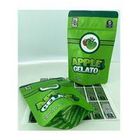 Rucksack Boyz Apple Gelato-Edibles Süßigkeitenverpackungen mit wiederverschließbarem kindersicheren Reißverschluss 420 Verpackung Mylar-Taschen