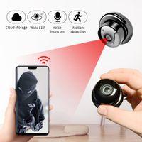 HD Kablosuz Mini WIFI IP Kamera Ev Güvenlik CCTV Video Gözetim IR Gece Görüş Hareket Algılama Bebek Monitörü Kızılötesi LJ201209