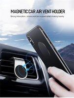 Support de téléphone de voiture magnétique L Shape d'évent d'air de forme Stand dans la voiture GPS Porte-mobile pour téléphone 12 Samsung Smart