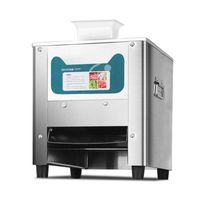 Fleischschleifer 680W Kommerzieller elektrischer Slicer Reiner Kupfermotor Schnell Automatischer Gemüseschneider Edelstahlschleifer