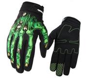 Nouveaux gants de motocross gants de course Gants forestiers de la route Venue professionnel Vitres anti-automne