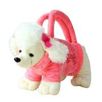أزياء الساخن بيع 3d تصميم الكلب حقائب كيد حقيبة يد جميل أفخم جرو شكل حقيبة الأطفال 25 * 10 سنتيمتر
