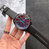 Топ 3А мода мужские спортивные часы кожа много часовых поясов рабочие мужчины часы армейские наручные часы монтрес наливают Hommes