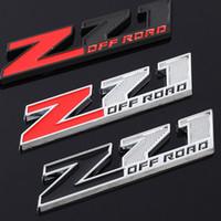 Autocollant autocollant emblème chrome badge décalques pour chevrolet Silverado Chevy Colorado Z71 hors route 4x4 Sierra GMC autocollants de style automatique Sierra GMC