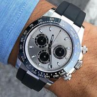 Relojes 116519 Pulsera de cerámica para hombre Mecánico de acero inoxidable Movimiento automático Reloj de hombre relojes deportivos relojes de pulsera